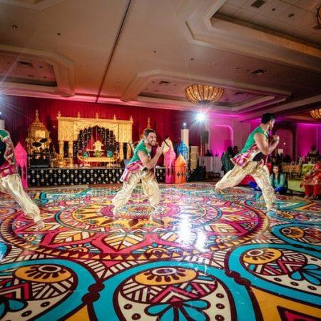 custom printed dance floor