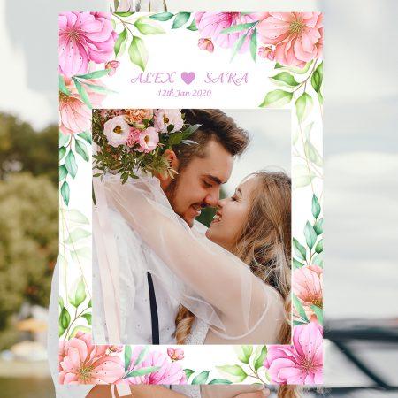Selfie Frame Wedding